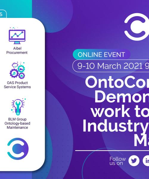OntoCommons.eu: Demonstrators at work to deliver an Industry Commons Marketplace