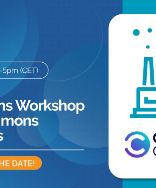OntoCommons workshop - Industry Commons Marketplaces
